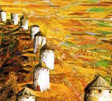 Pintura en Museo De Los Molinos