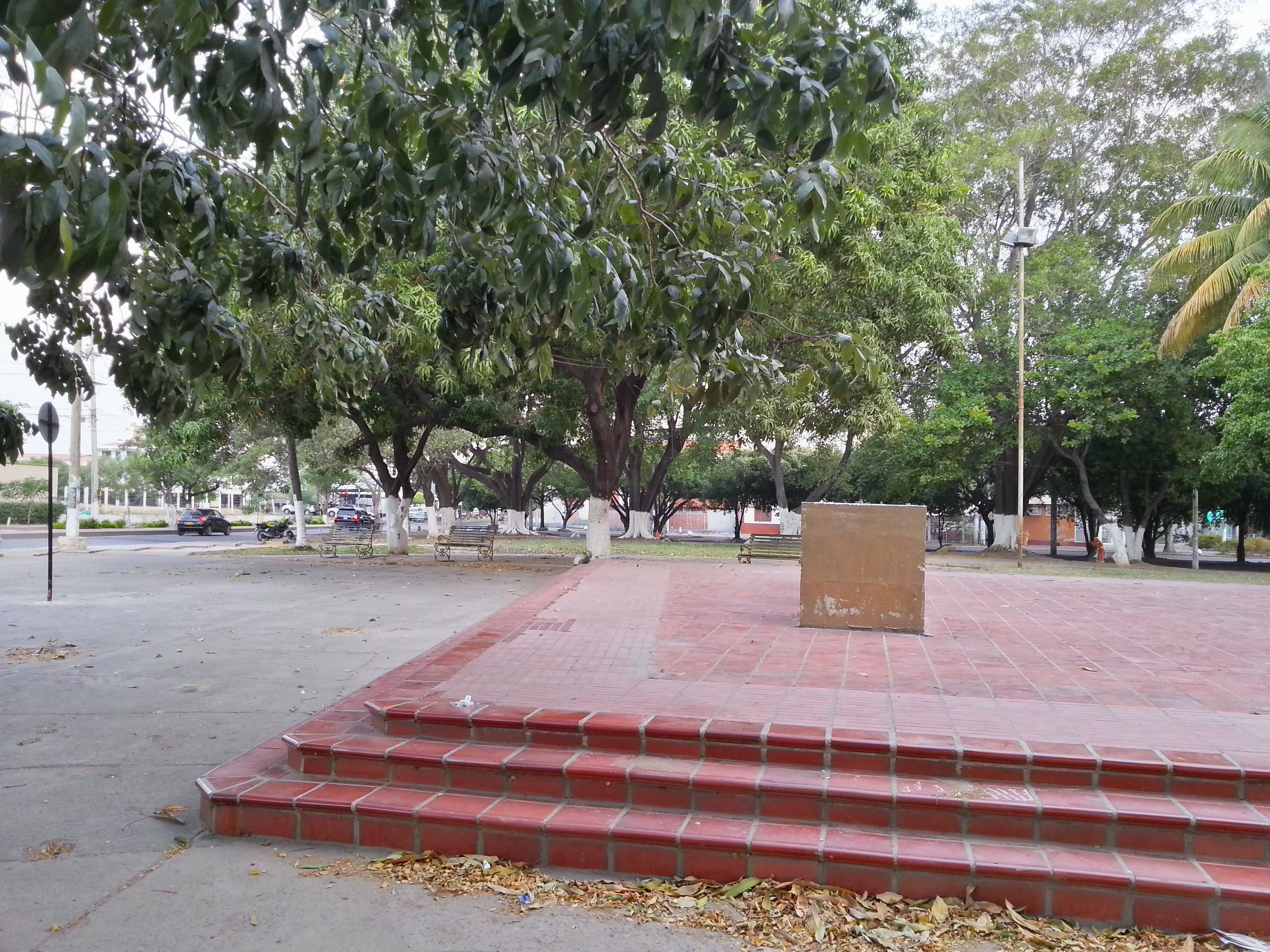 Square in Parque La Biblia