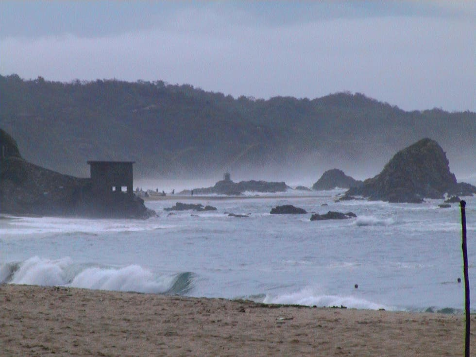 Beach in Mazunte