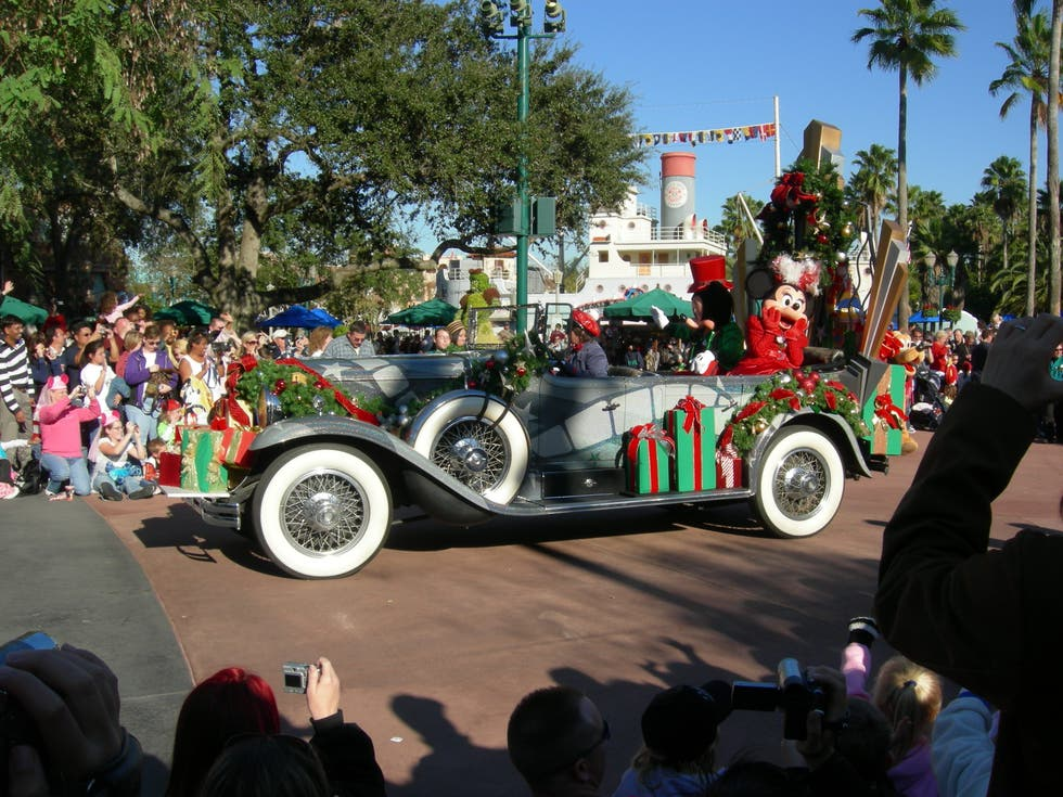 Evento en Disney Parades (desfiles en los parques de Disney World)