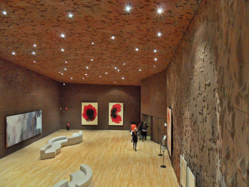 Sala en CaixaForum Madrid
