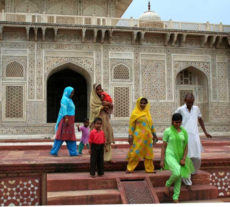Palacio en Mausoleo Itimad-ud-Daulah
