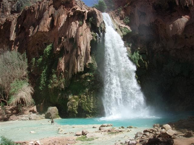 Body Of Water in Havasupai