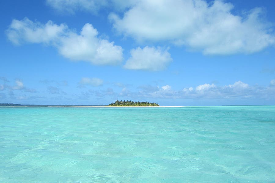 Vacation in Aitutaki