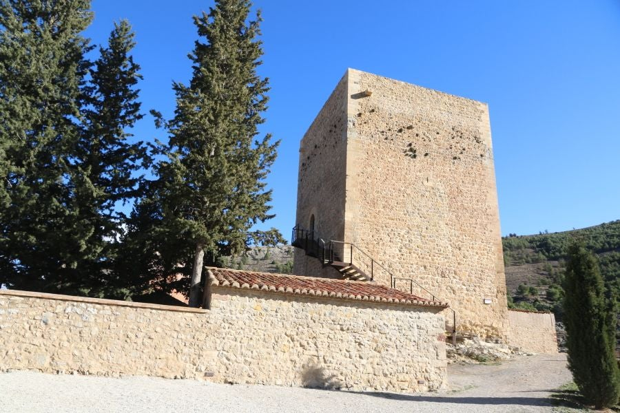 Wall in La Torre Blanca