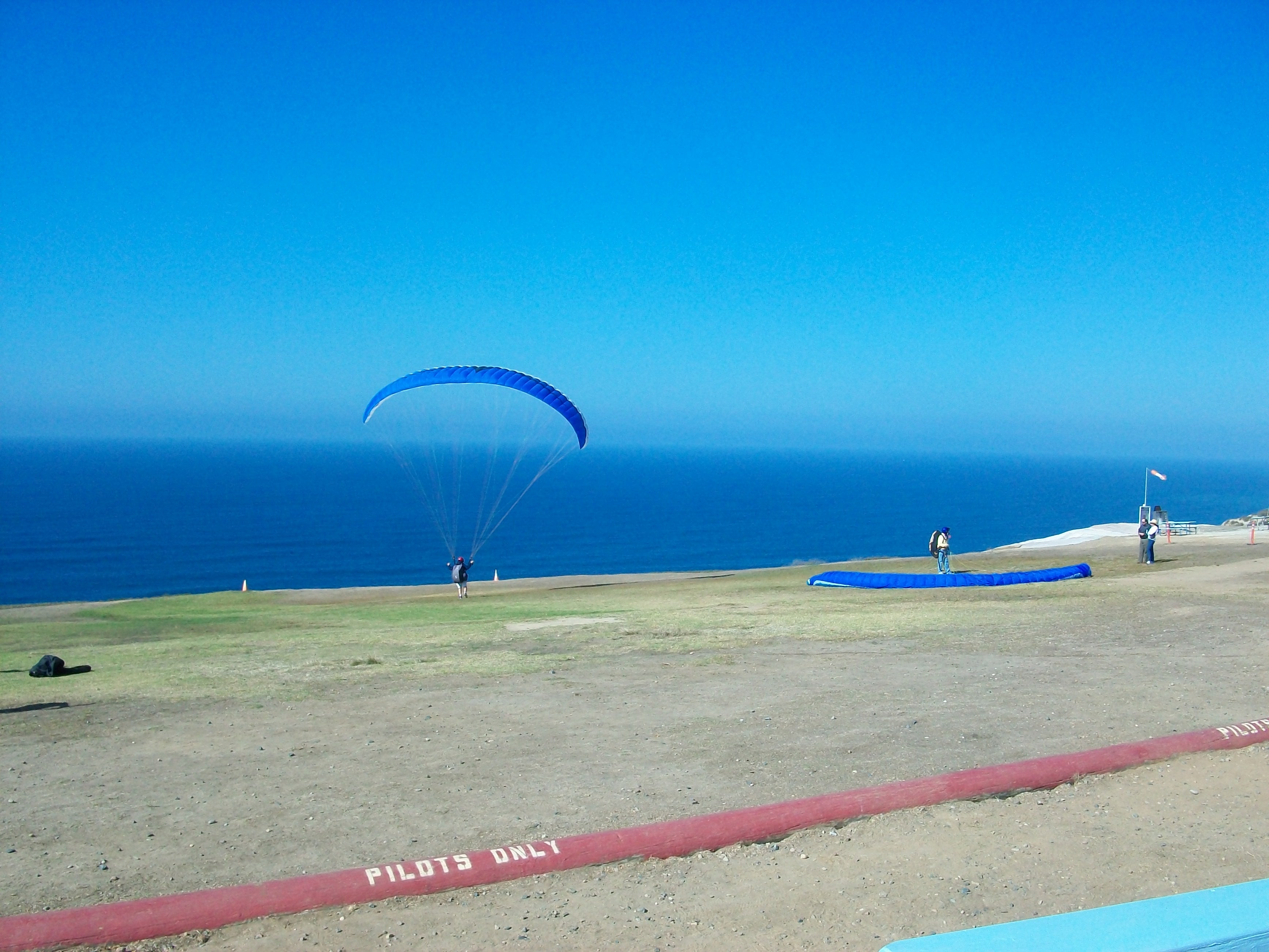 Sea in Torrey Pines Gliderport