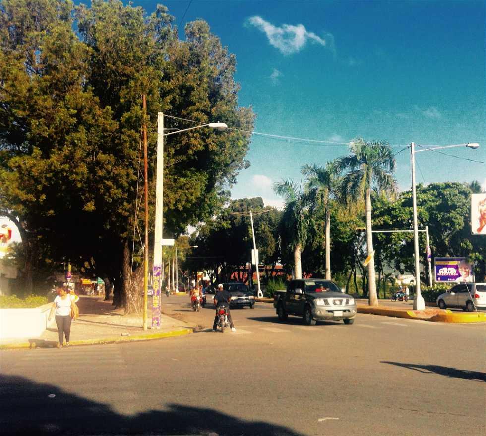 Calle en Monumento dei Padri Fondatori