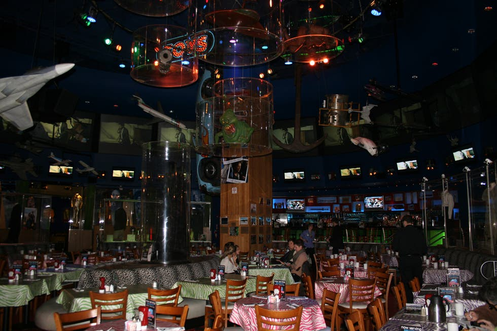 Discoteca en Planet Hollywood