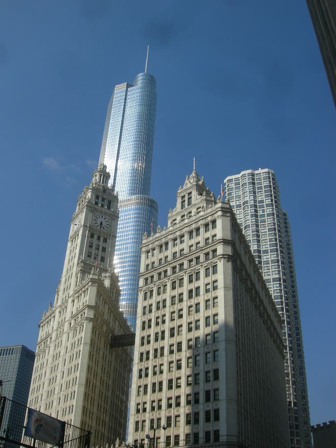 Centro de la ciudad en Trump International Hotel and Tower Chicago