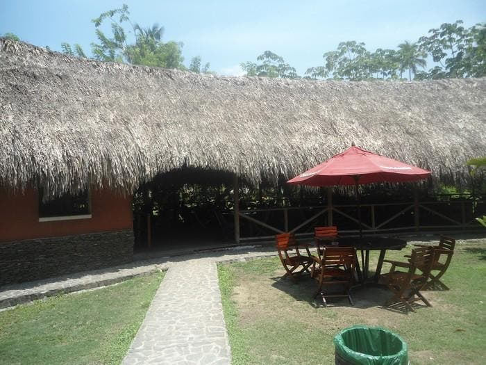 Resort en Restaurante Tayrona