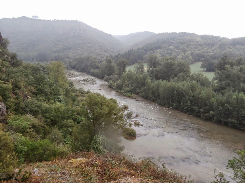River in Ambialet