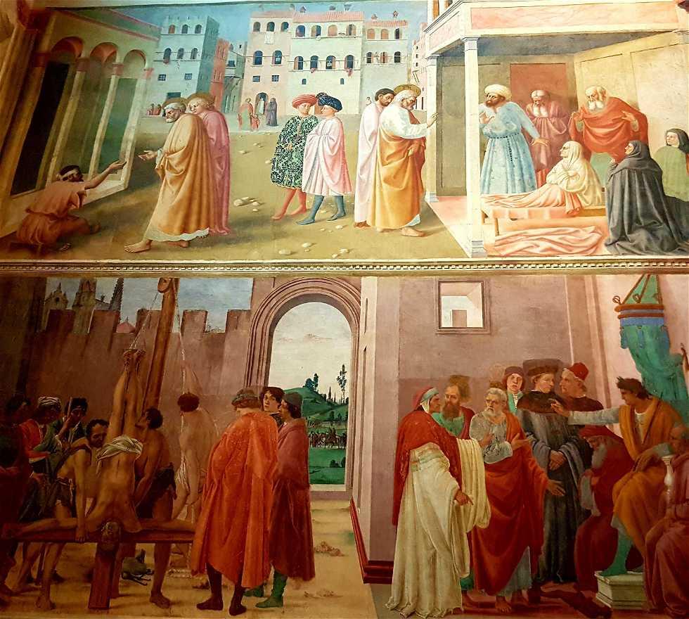 Pintura en Cappella brancacci