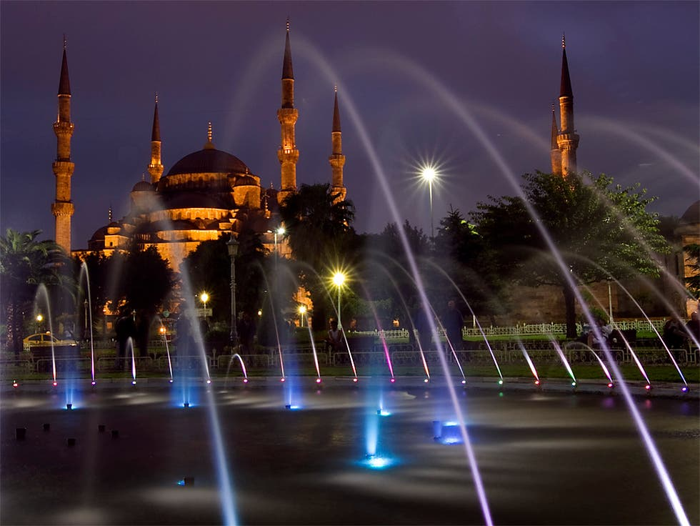 Cityscape in Turkey