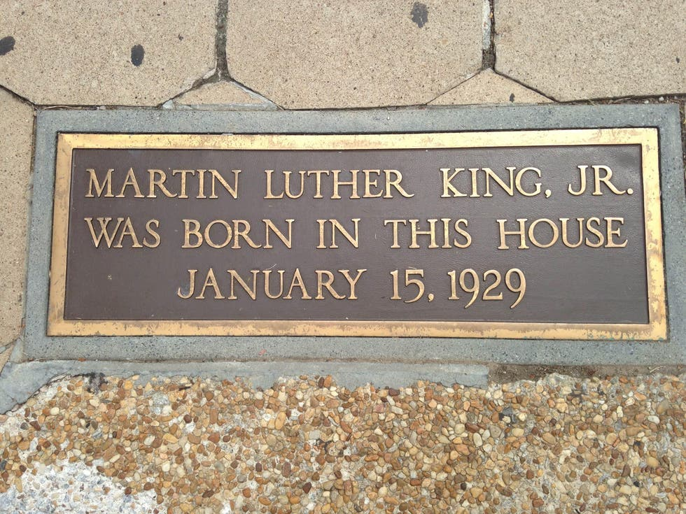 Pueblo en Martin Luther King Jr. National Historic Site