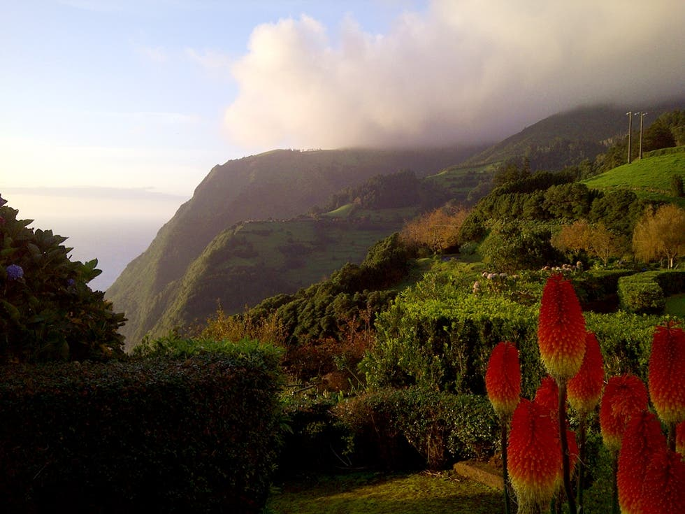 Mountain in The Azores