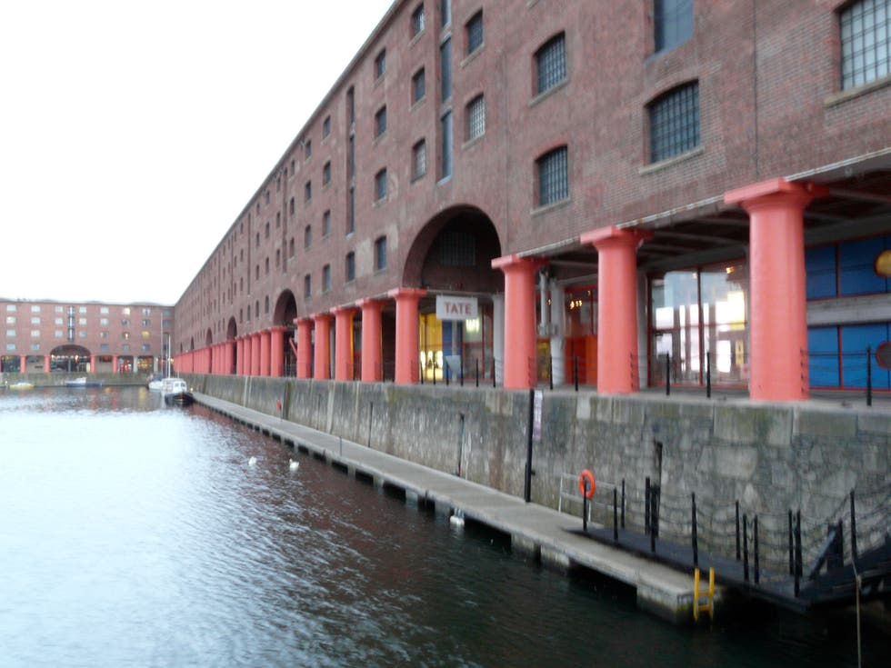 Canal en Tate Liverpool