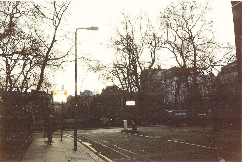 Calle en Russell Square