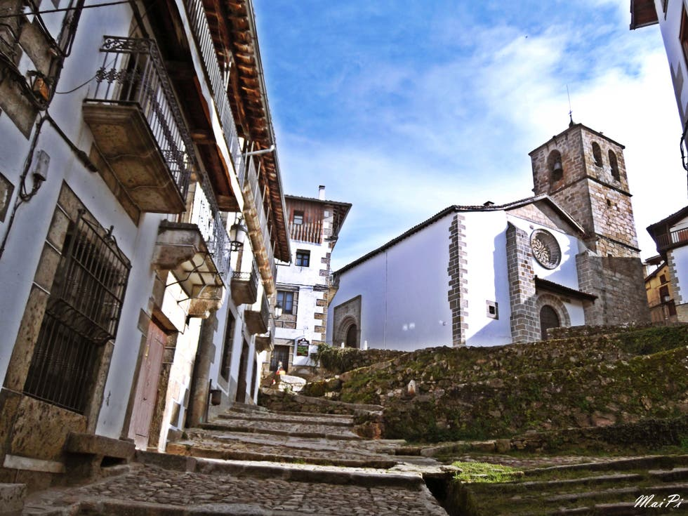 Town in Candelario