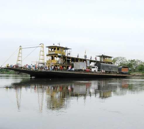 Río en Magangué