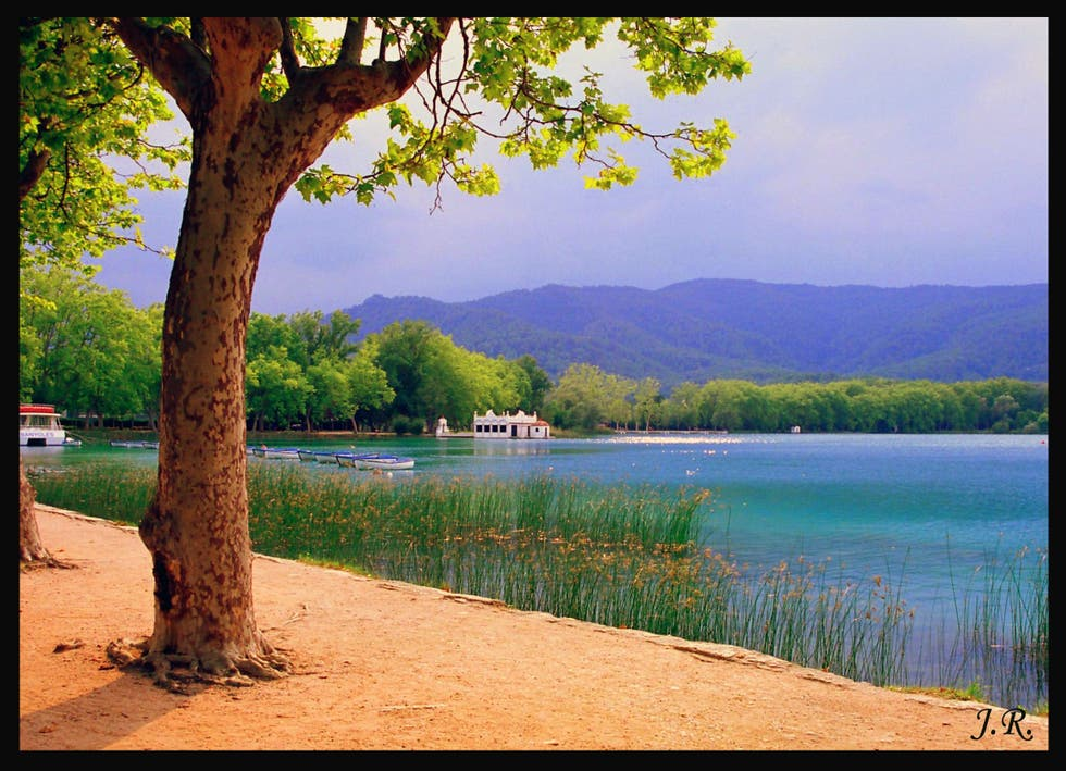Green in Banyoles