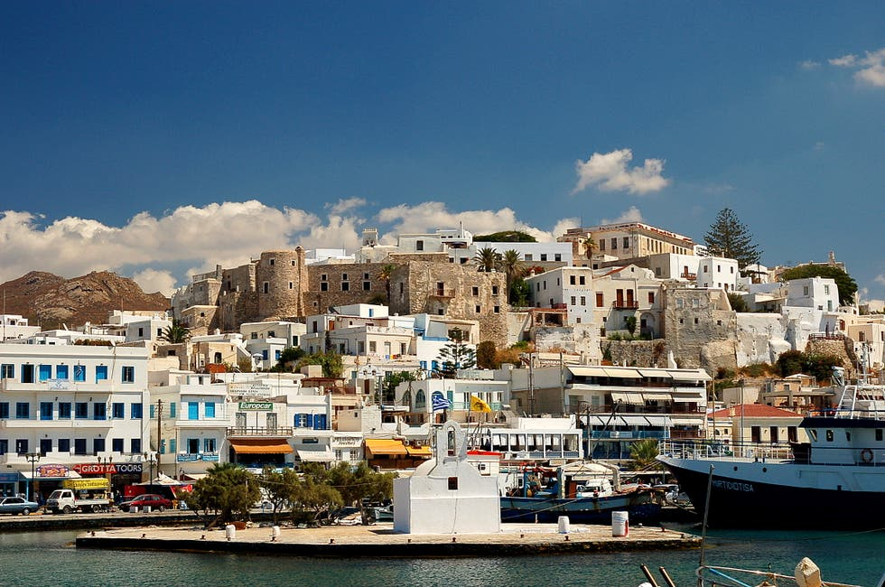 Vacation in Naxos Islands