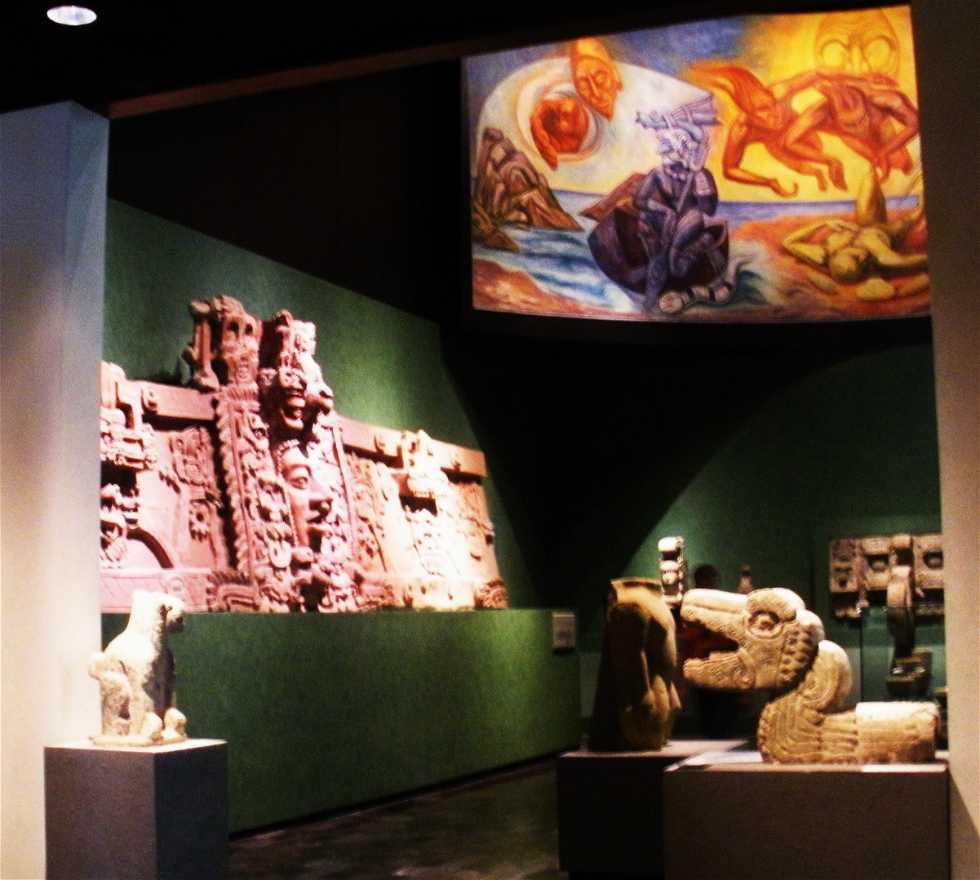 Señal en Museo Nacional de Antropología