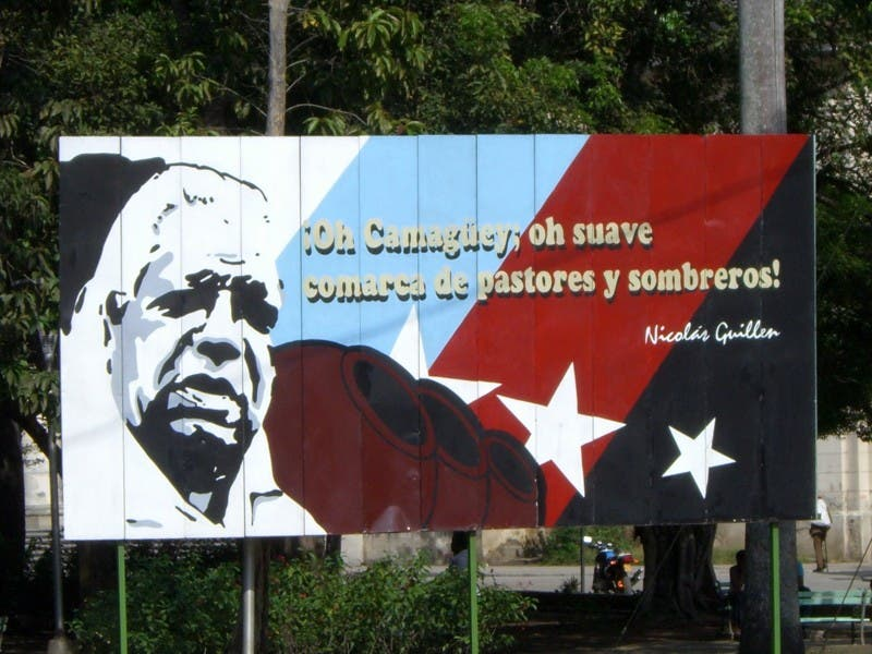 Poster in Camaguey