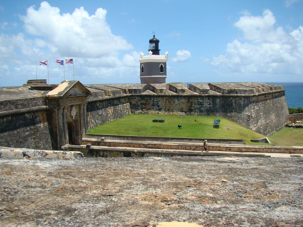 Fortification in San Juan