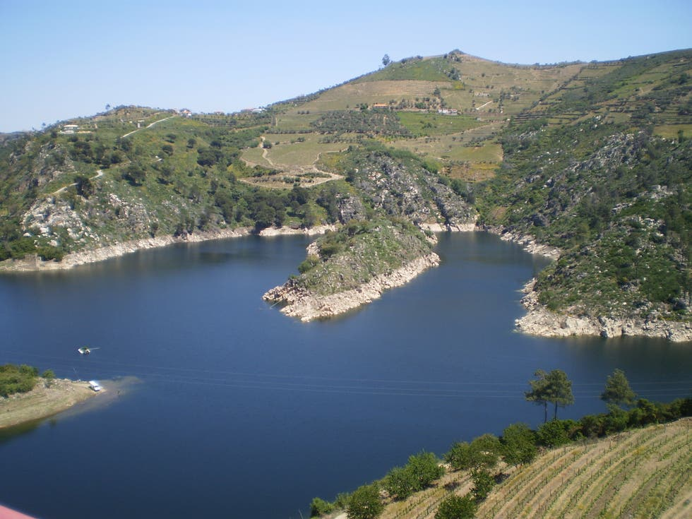 Body Of Water in Peso da Régua