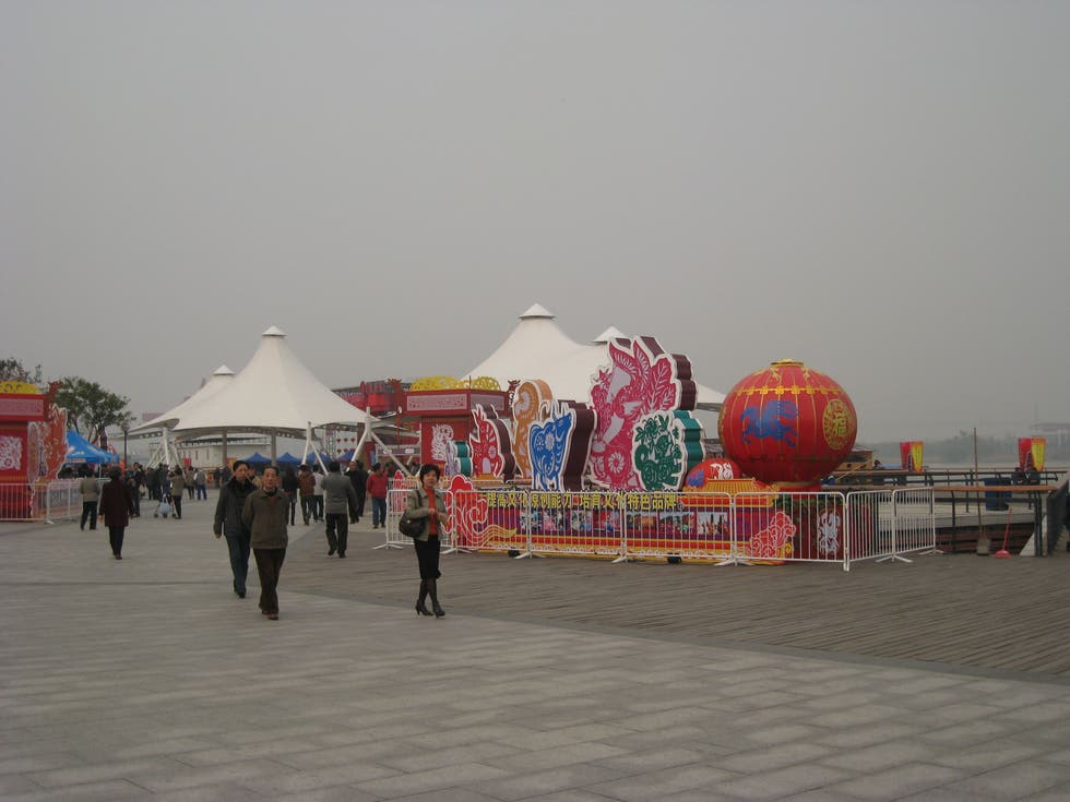 Mar en Longhua Temple Fair
