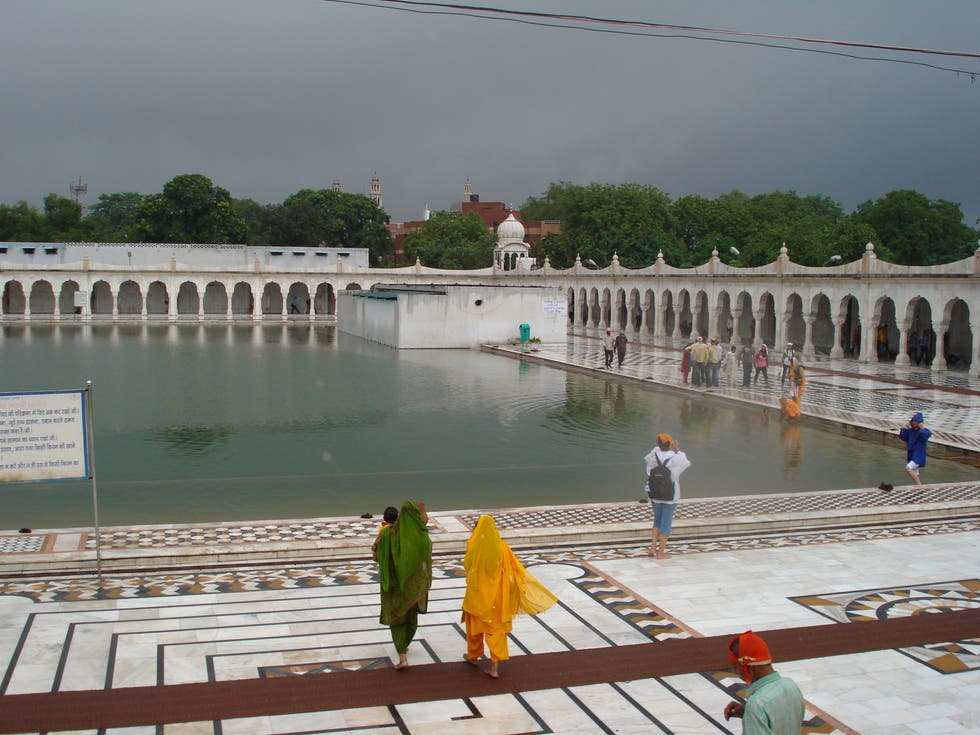 Mar en Gurdwara Bangla Sahib