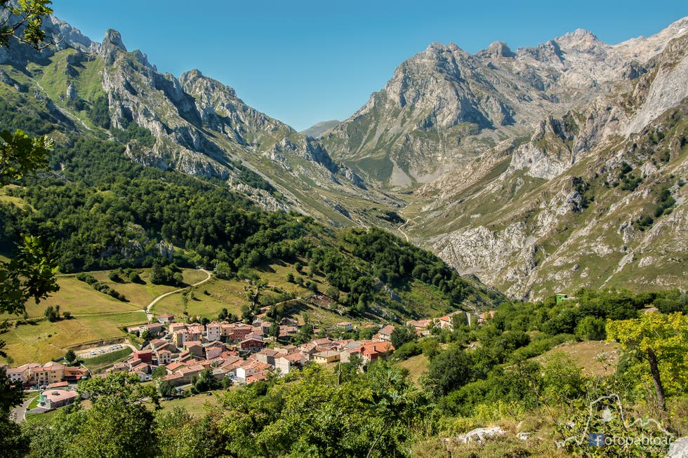 Mountain Range in Cabrales