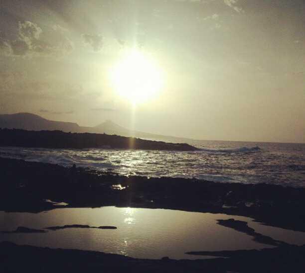 Mar en La Costa de Arucas
