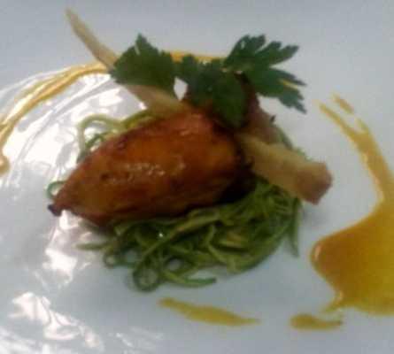 Comida en Restaurante Pepe Nero