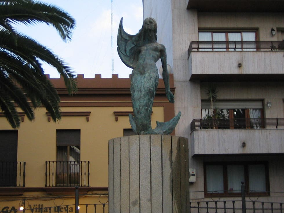 Sculpture in Villanueva de la Serena