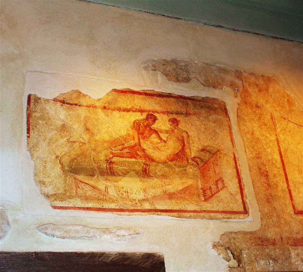 Mural en Ruinas de Pompeya