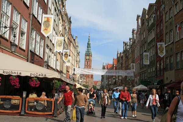 Urban Area in Gdansk
