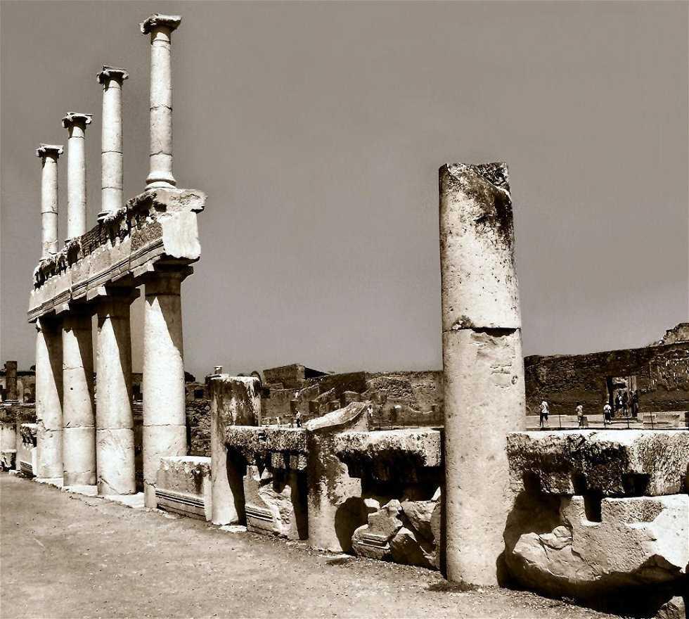 Blanco en Scavi Di Pompei