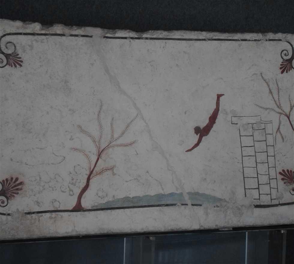 Pared en Museo archeologico nazionale di paestum