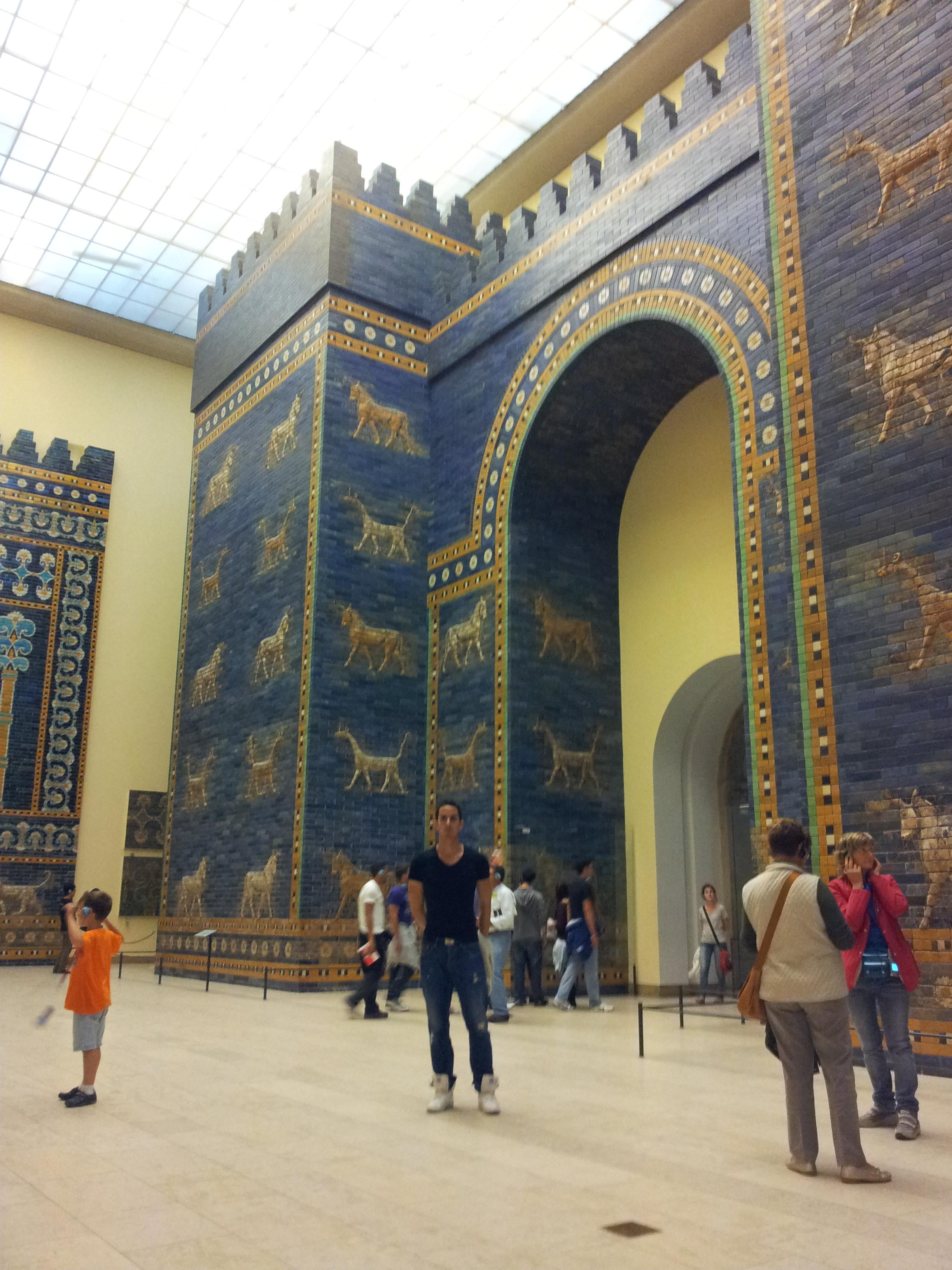 Tourism in Pergamon Museum