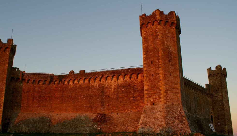 Red in Montalcino