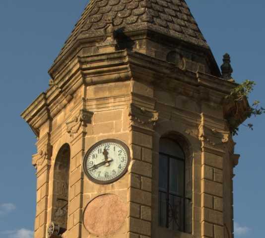 Torre del reloj en Torre del reloj