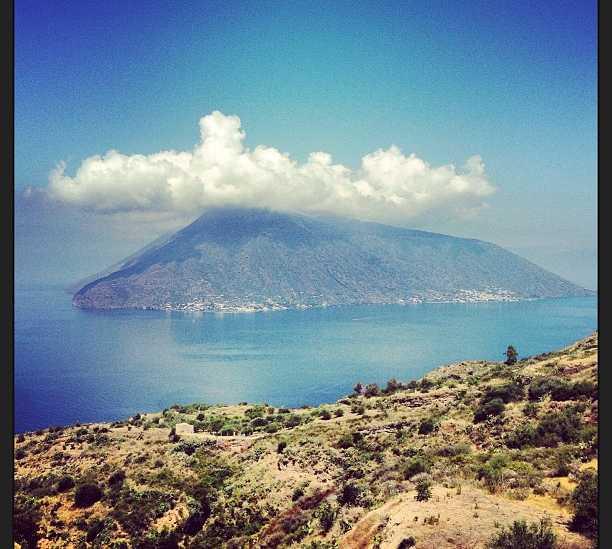 Cielo en Isla de Lipari