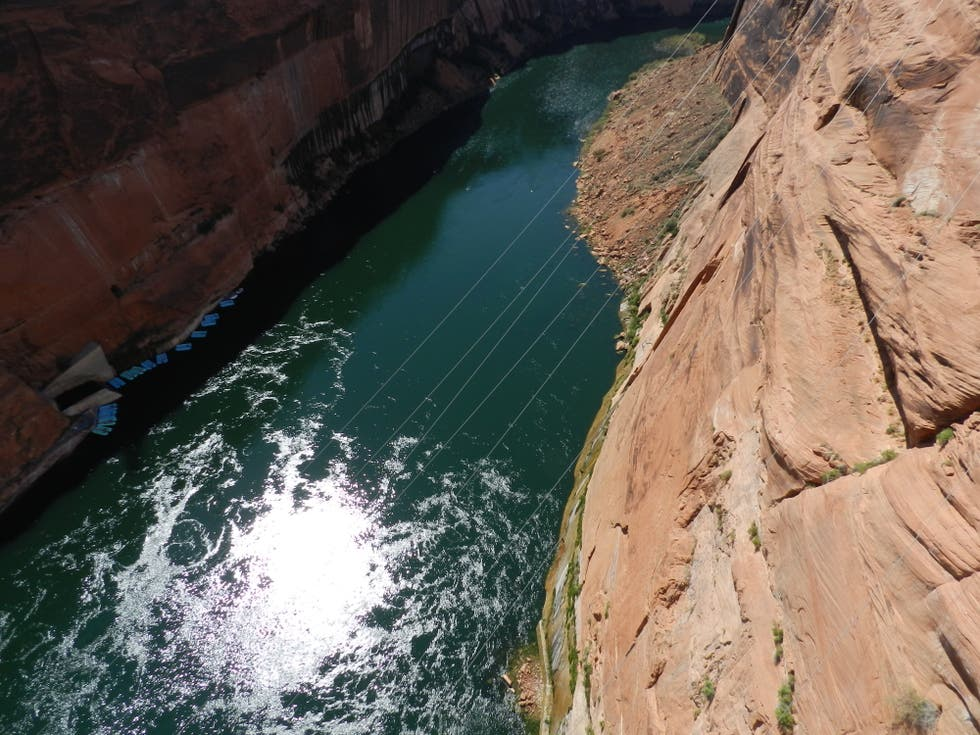 Cañón en Glen Canyon Bridge