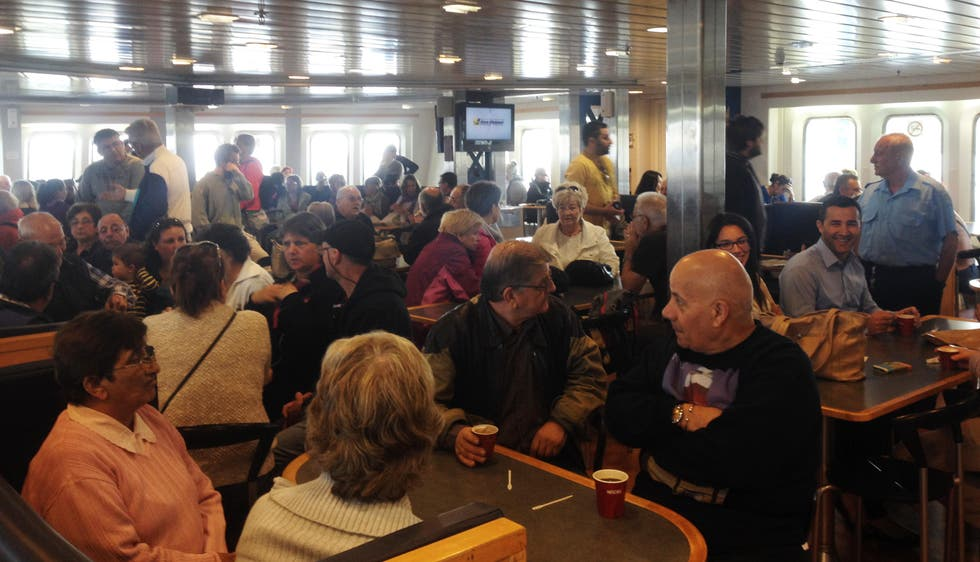 Conferencia en Ferries Gozo Channel Line
