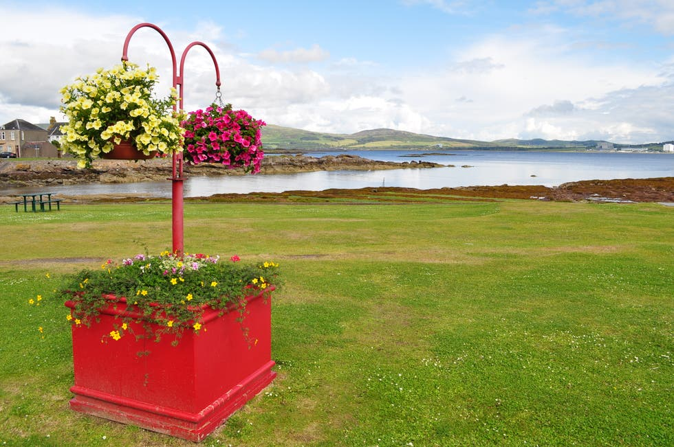 Red in Millport
