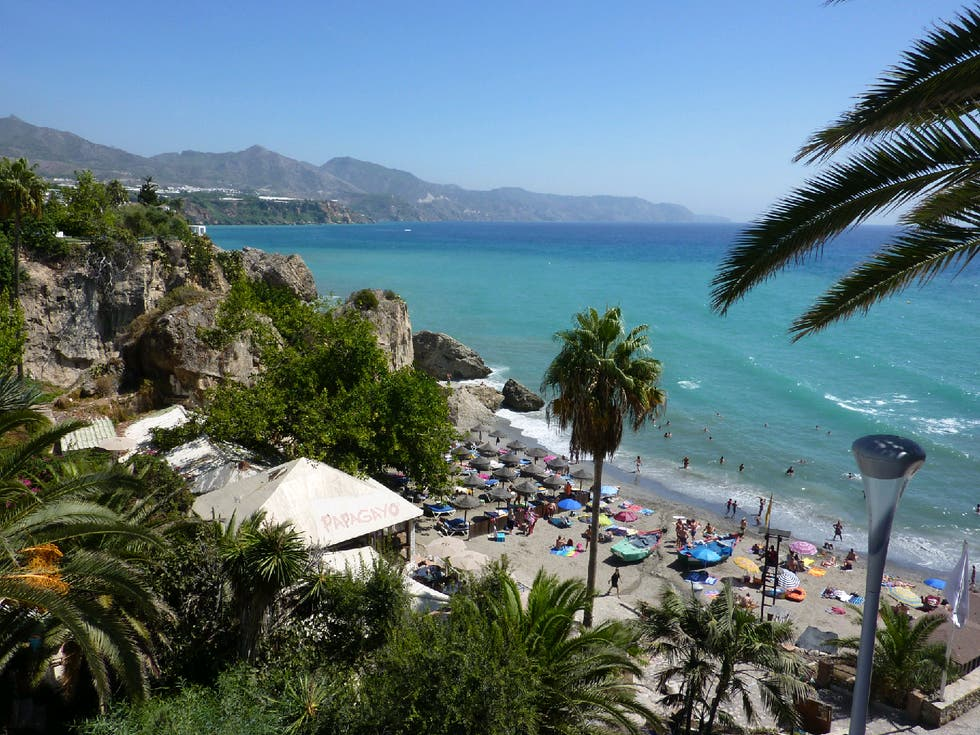 Sea in Nerja
