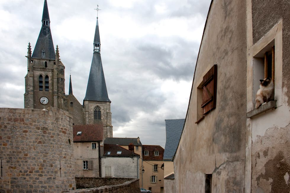 steeple in Dourdan