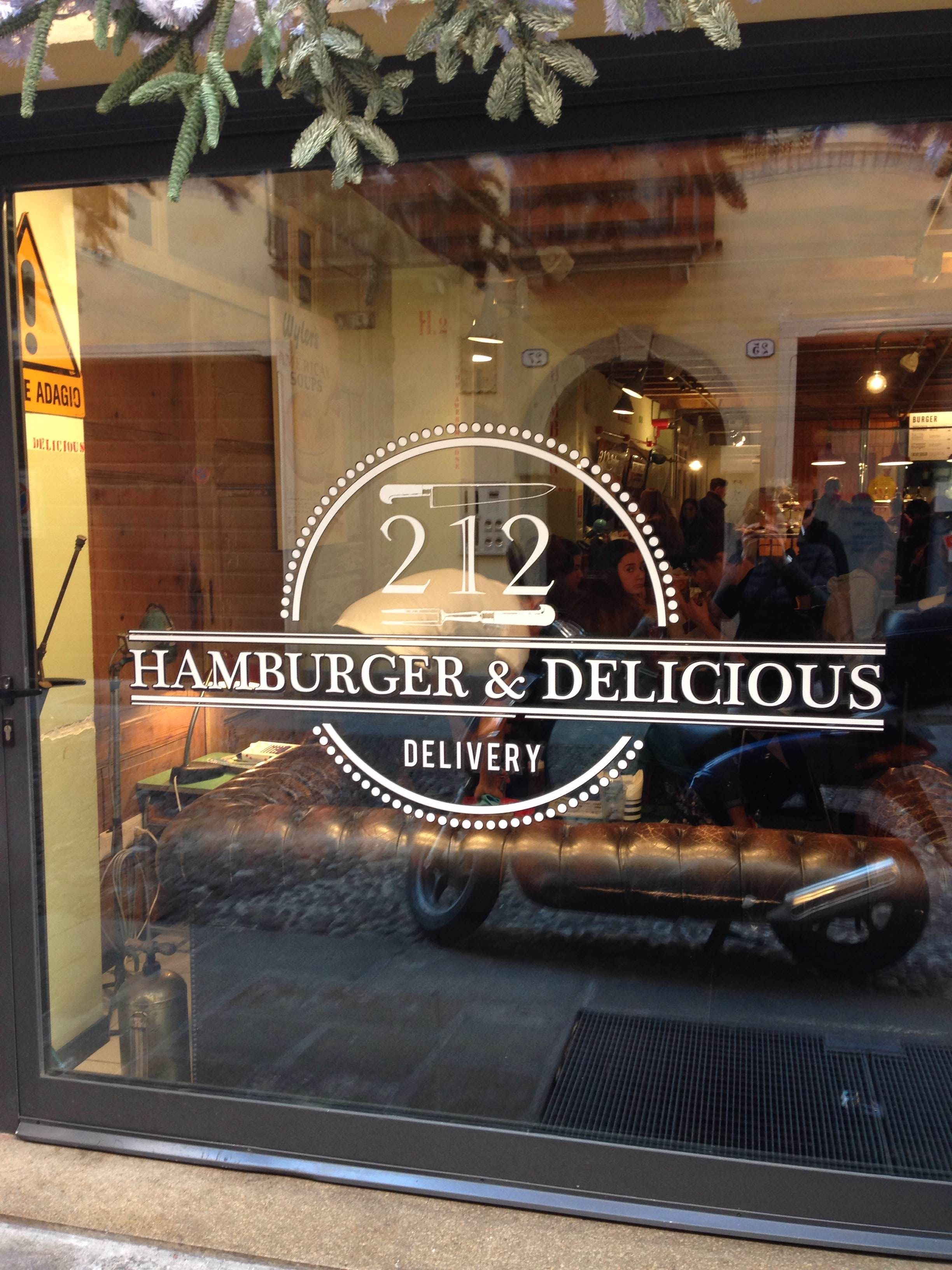 Vehicle in 212 Hamburger & Delicious