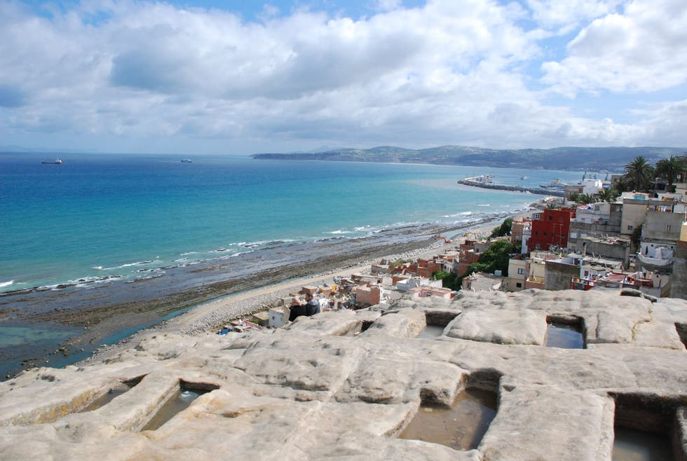 Sea in Tangiers